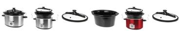 Kalorik 8 Qt. Digital Slow Cooker with Locking Lid