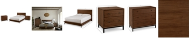 Furniture Oslo Bedroom Furniture, 3-Pc. Set (King Bed, Nightstand & 3 Drawer Chest), Created for Macy's