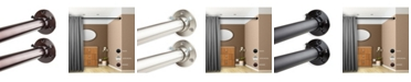 """Rod Desyne 1"""" Adjustable 48-84 inch Room Divider Rod and Socket Set"""