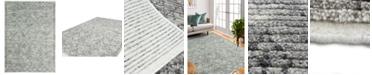 "BB Rugs Natural Wool NAT-8 Gray 5' x 7'6"" Area Rug"