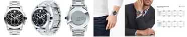 Movado Men's Swiss Chronograph Vizio Stainless Steel Bracelet Watch 45mm 0606551