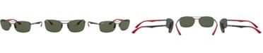 Ray-Ban Sunglasses, RB3617M 63