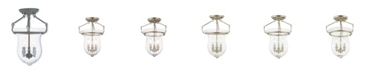 Livex CLOSEOUT!   Canterbury 3-Light Ceiling Mount