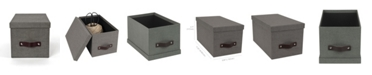 Bigso Box of Sweden Silvia Media Box, Set of 2