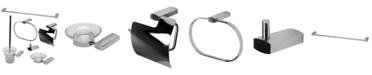 ALFI brand Polished Chrome Matching Bathroom Accessory Set, 6 Piece