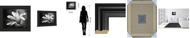 """Classy Art Magnolia Dreams II by Geyman Vitaly Framed Print Wall Art, 22"""" x 26"""""""