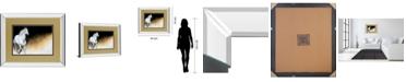"Classy Art Light and Dark by Milenko Katic Mirror Framed Print Wall Art, 34"" x 40"""