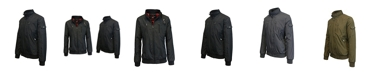 Galaxy By Harvic Men's Lightweight Moto Bomber Jacket