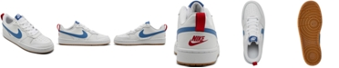 Nike Big Kids Court Borough Low 2 Casual Sneakers from Finish Line