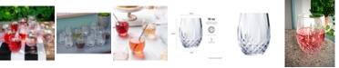 Longchamp Cristal D'Arques 10oz Stemless Wine Glass, Set of 12