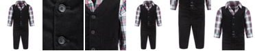 First Impressions Baby Boys 3-Pc. Corduroy Set, Created for Macy's
