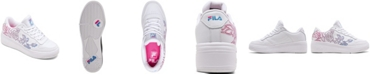 Fila Women's WX-100 Floral Casual Sneakers from Finish Line
