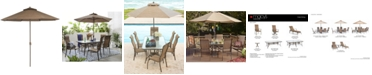 Furniture Oasis Outdoor 9' Umbrella, Created for Macy's