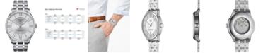 Tissot Men's Swiss Automatic Chemin Des Tourelles Stainless Steel Bracelet Watch 42mm T0994071103800