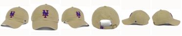 '47 Brand New York Mets Khaki Clean UP Cap