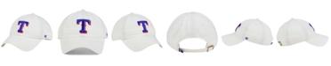 '47 Brand Texas Rangers White Clean Up Cap