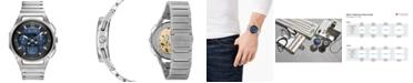 Bulova Men's Chronograph Curv Stainless Steel Bracelet Watch 44mm