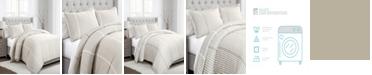 Lush Decor Drew Stripe 3pc Full/Queen Duvet Cover