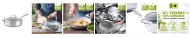 GreenPan Venice Pro Stainless Steel 5-Qt. Ceramic Nonstick Covered Saute Pan