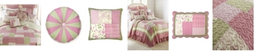 American Heritage Textiles Bashful Rose Cotton Quilt Collection