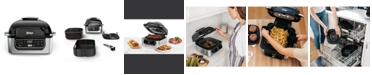 Ninja AG301 Foodi™ 5-in-1 Indoor Grill with 4-Quart Air Fryer, Roast, Bake, Dehydrate, and Cyclonic Grilling Technology