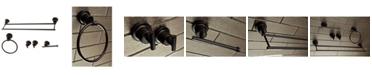 Kingston Brass Concord Dual-Towel Bar 5-Pc. Bathroom Accessory Set in Oil Rubbed Bronze