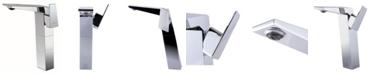 ALFI brand Polished Chrome Single Hole Tall Bathroom Faucet