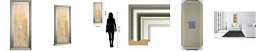 "Classy Art Careless Whisper II by Erin Ashley Framed Print Wall Art, 18"" x 42"""