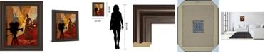 "Classy Art Red Carpet Awards by Conrad Knutsen Framed Print Wall Art, 22"" x 26"""