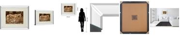 "Classy Art The Crossing by Wendy Caro Mirror Framed Print Wall Art, 34"" x 40"""