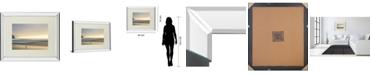 """Classy Art Morning Visit by Marvin Pelkey Mirror Framed Print Wall Art, 34"""" x 40"""""""