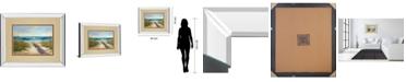 "Classy Art Serenity II by Karen Marguliss Mirror Framed Print Wall Art, 34"" x 40"""