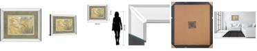 """Classy Art Foxtail by Assaf Frank Mirror Framed Print Wall Art, 34"""" x 40"""""""