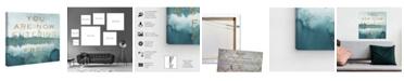 "Oliver Gal Stress Free Zone Canvas Art, 12"" x 12"""