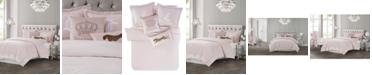 Juicy Couture Velvet 3-Piece King Comforter Set