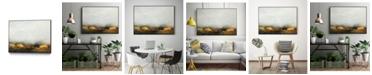 """Giant Art 32"""" x 24"""" Land III Art Block Framed Canvas"""