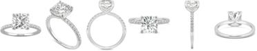 Charles & Colvard Moissanite Engagement Ring (2-5/8 ct. t.w. DEW) in 14k White Gold
