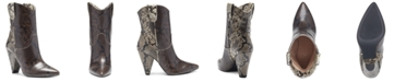 INC International Concepts I.N.C. Women's Bevie Booties, Created for Macy's