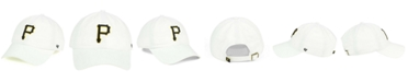 '47 Brand Pittsburgh Pirates White Clean Up Cap