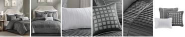 Madison Park Trinity Charmeuse 7-Pc. California King Comforter Set