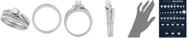 Macy's Diamond Bridal Set (7/8 ct. t.w.) in 14k White Gold