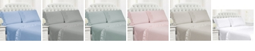 Cathay Home Inc. Cathay Home Ruffle Hem Sheet Set Collection