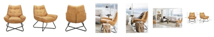 Moe's Home Collection Graduate Lounge Chair Tan