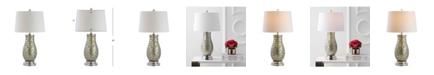 JONATHAN Y Douglas Mosaic Led Table Lamp