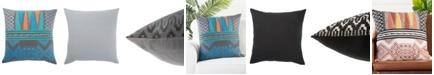 "Jaipur Living Museum Ifa By Mesa Geometric Down Throw Pillow 22"""