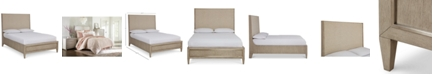 Furniture Closeout! Sutton Place Upholstered Queen Bed, Created for Macy's