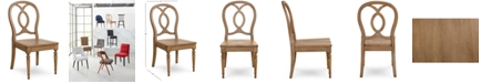 Furniture CLOSEOUT! Emma Side Chair, Created for Macy's