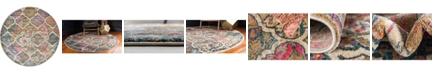 Bridgeport Home Aroa Aro4 Beige 8' x 8' Round Area Rug