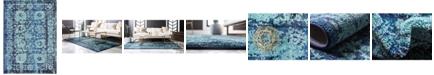 Bridgeport Home Sana San4 Turquoise 8' x 11' Area Rug