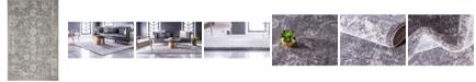 Bridgeport Home Wisdom Wis6 Dark Gray 5' x 8' Area Rug
